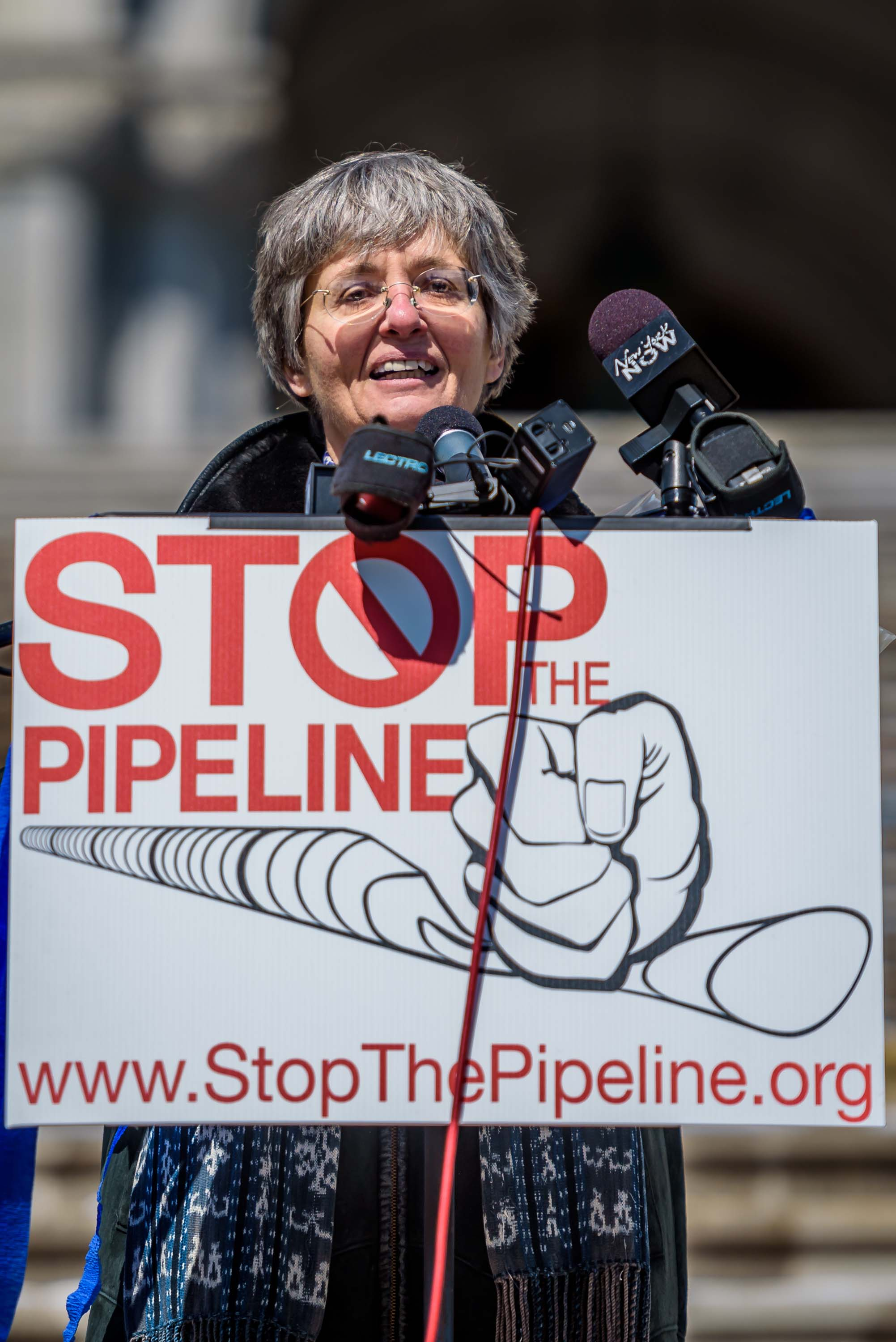 "Anne Marie Garti, a founding member of STP and an attorney volunteering with the Pace Environmental Litigation Clinic (PELC), which represents it. ""Just like we asked landowners to ""just say no"" to the pipeline company as a way to preserve their property"
