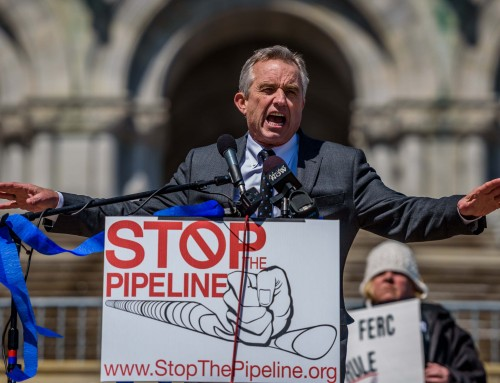Robert F. Kennedy, Jr., president of the Waterkeeper Alliance