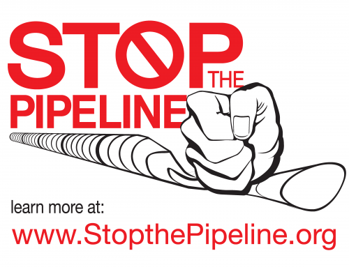 Stop The Pipeline Lawn Sign